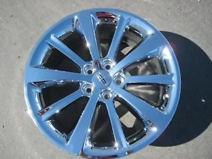 "Exchange Your Stock 4 New 19"" Factory Lincoln MKS Chrome Wheels Rims 09 12"