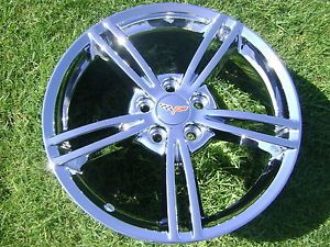 "18"" 19"" New Corvette Chrome Wheels Rims Exchange"
