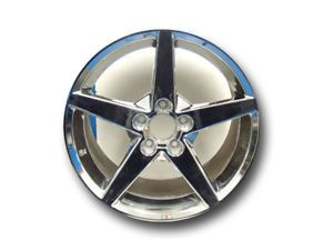 Corvette OEM Chrome Wheels
