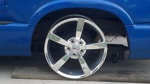 "Set of 4 Chrome 18"" 19"" Chevrolet Corvette Gumby Wheels Rims"