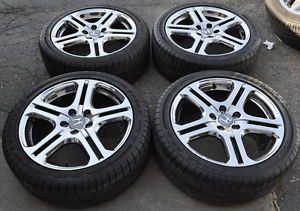 "Honda Accord 18"" Chrome Wheels Rims Tires 71735"