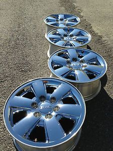 4 2013 GMC 1500 Sierra Yukon Denali Factory 18 Chrome Wheels Rims Caps