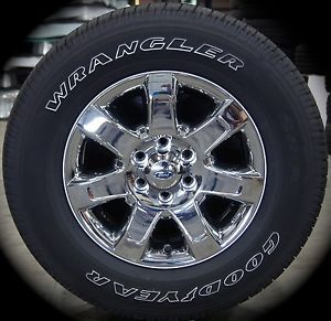 "New 2004 14 Ford F150 F 150 18"" Chrome Wheels Rims Tires Expedition 2003 14"