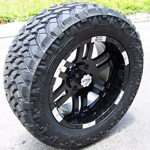 "20"" Moto Metal 951 Wheels Nitto Trail Grappler Tires for Dodge Durango"