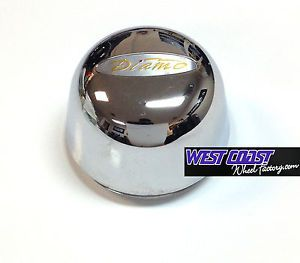 DIAMO 17 Karat Chrome Plastic Wheel Rim Replacement Center Cap Part N A