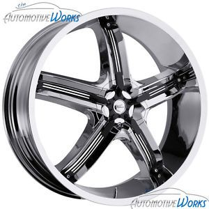 17x7 Milanni Belair 5 5x100 5x114 3 5x4 5 38mm Chrome Wheels Rims inch 17