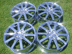 "17"" 4 Brand New Lexus GS300 ES330 Chrome Wheels Rims"
