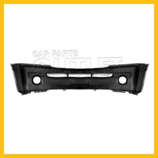 Front Bumper Cover KI1000118 Fit 2003 2006 Kia Sorento EX Primered Fog Lamp Hole