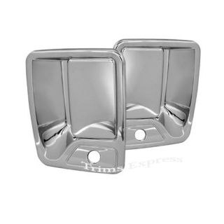 1999 2011 Ford F 250 F 350 F 450 Super Duty 2 Door Chrome Handle Covers w PSKH