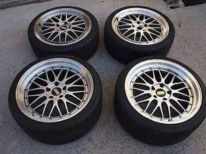 Authentic BBs LM 19x8 5 19x10 Wheels Rims with Tires for BMW E46 E90 M3 M5