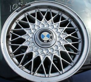 "15"" BMW BBs Cross Spoke Alloy Wheels 5 Lug 5 Series 1988 1995 BMW E34"