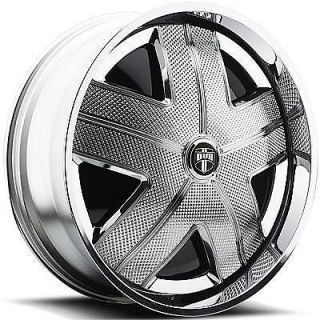 "32"" Dub Spin Ham Wheel Set Chrome Spinner 32x10 rwd 5 6 Lug Rims 32inch"