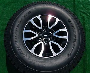 New Takeoff Genuine Factory Ford F 150 Raptor Wheels BF Goodrich Tires F150