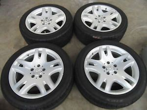 "17"" Mercedes E Class E300 E320 E350 E500 Wheels Falken Tires 5x112 18 20"