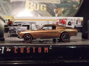 Redline Hot Wheels Custom Mustang Copper Super Paint