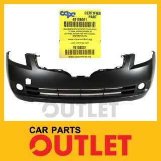 Capa 07 09 Nissan Altima Front Bumper Cover Assembly Replacement Primed SL S