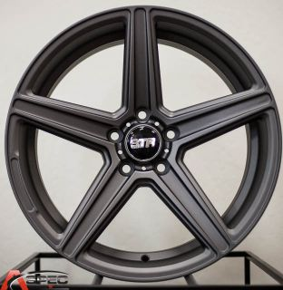18x8 5 9 5 Str 617 5x112 Matt Gun Metal Rim Fit Mercedes C E s CL CLS CLK SLK