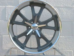 "22"" Anthracite American Racing VN801 Daytona Wheels Rims 2010 Camaro LS Lt SS RS"
