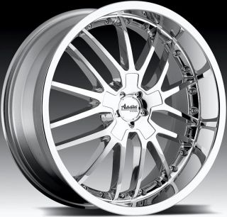 18x8 Advanti Racing Ligero 5x120 40 Chrome Rims Wheels Fit GTO G8 BMW Z3 Z4 X3