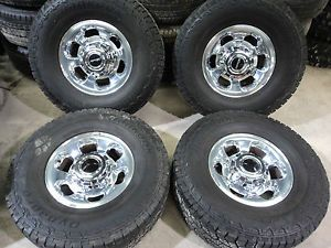99 04 Ford Super Duty F250 Platinum Wheels and Hankook Dynapro Tires KB722G