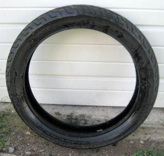 "Dunlop Harley Davidson Front Tire D402F 130 70 18 Flat Track ""Used"""