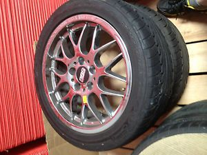 "BBs Wheels Tires 17"" x 8"" BBs RX202C Wheels P235 45ZR17 Dunlop Sport Tires"