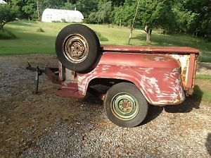 Chevrolet Chevy Stepside Truck Trailer 1955 1956 1957 1958 Tailgate Fenders Bed