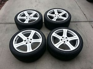 Mercedes Benz CLS500 CLS550 18 inch Wheels Tires Bridgestone RE970AS 11 32