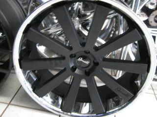 "24"" Gianelle Santo 2 SS Santorini Wheels Tire Dub 26 Forgiato Giovanna MOZ 22"