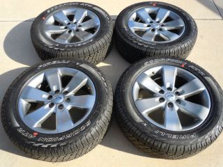 "2013 Ford F150 F 150 FX4 FX2 20"" Factory OE Wheels Tires Pirelli P275 55R20 J"