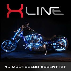 EFX x Line Million Color LED 5050 SMD Accent Lights Honda Motorcycle Light Kit