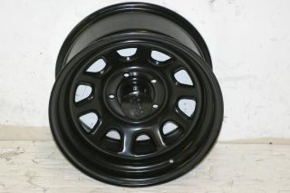 1 Black Rock 942 Wheel 16x8 5x4 5 87 06 Jeep Wrangler YJ TJ XJ Cherokee