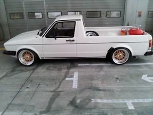 1 18 Scale VW Volkswagen Golf Caddy MK1 GTI with BBs RS Wheels Limited