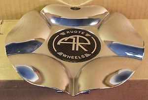 AR Ruote Wheels Chrome Custom Wheel Center Cap Caps 1