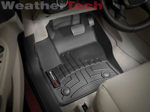 Weathertech® Floor Mats Floorliner Ford Escape 2013 Black