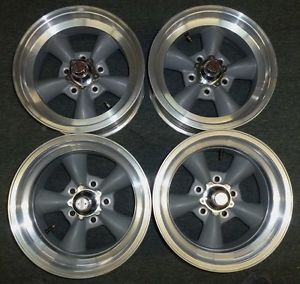 American Racing Wheels VN105D Torq Thrust D Gray Rims Used