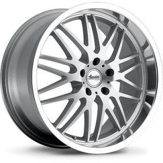 22x10 Silver Advanti Racing Kudos Wheels 5x120 40 BMW x5 X6