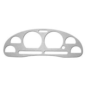 Ford Mustang 94 04 Brushed Aluminum Gauge Cluster Speedo Dash Bezel Cover Trim