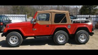 Custom 6 Wheel 1997 Jeep Wrangler