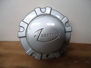 Zenetti Wheel Silver Custom Wheel Center Cap 1