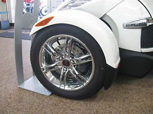 Can Am Spyder RT Custom Chrome Front Wheels Wheel Kit