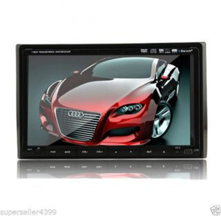"7"" Car Stereo CD VCD DVD  Player in Dash Double DIN"