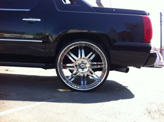 "30"" asanti Wheels and Tires Escalade Tahoe Silverado Yukon"