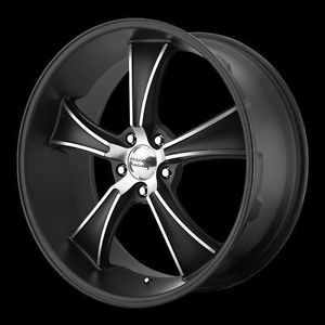 20x8 5 20x10 Black American Racing VN805 Blvd Wheels 2005 2012 Mustang GT500