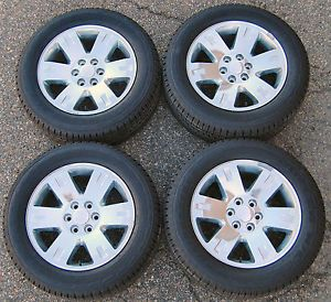 "Factory 20 20"" GMC Sierra Yukon Wheels Bridgestone Tires Set of Four 5307"