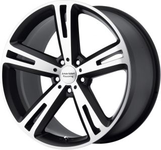 "17"" American Racing Villain Wheels Rim Mustang Civic Caliber Fusion Nitro Accord"