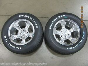 Rocket Racing Wheels Rims 15 x 10 Injector BFGoodrich Tires 295 60 Set of 4