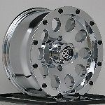 17 inch Chrome Wheels Rims Jeep Wrangler 2007 2012 JK 5x5 5x127 New ATX 5 Lug