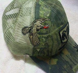 "Dodge RAM Truck Cap ""Turkey Hunter"" Mossy Oak Camo Trucker Hat Mesh Gobbler"
