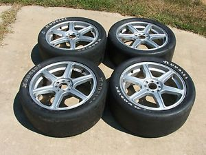 Ford SVT Focus ASA Wheels Rims 17x7 Racing Race scca 2002 2003 2004 Saleen NASA